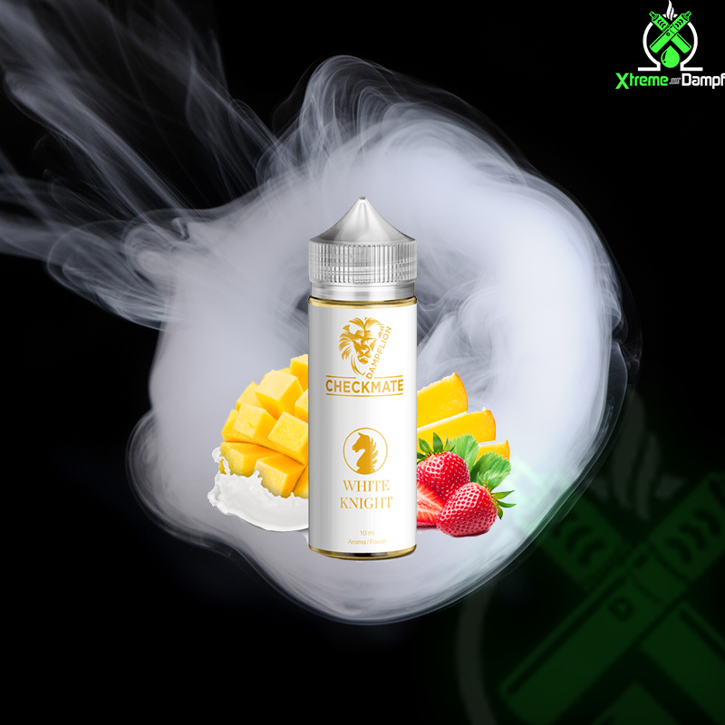 Dampflion | Longfill | Checkmate | White Knight 10ml/120ml