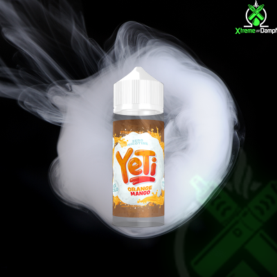 Yeti | Shortfill | Orange Mango 100ml/120ml