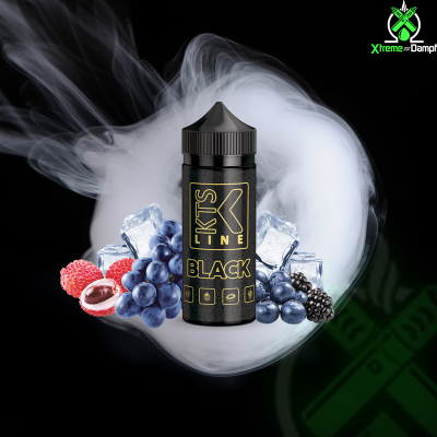 KTS Line | Longfill | Black 30ml/120ml
