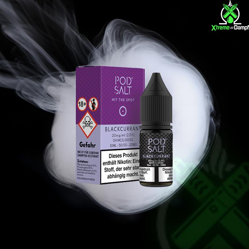 PodSalt | Blackcurrant 20mg Nikotin Salz