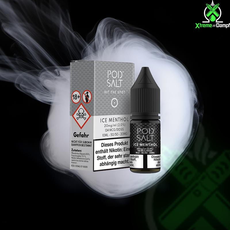 PodSalt | Ice Menthol Nikotin Salz