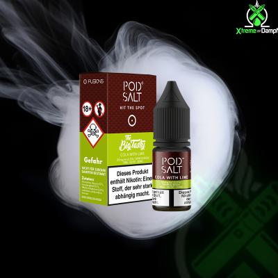 PodSalt Fusion | Big Tasty - Cola with Lime 20mg Nikotin...