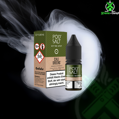 PodSalt Fusion | Cali Greens - Amnesia Mango 20mg Nikotin...