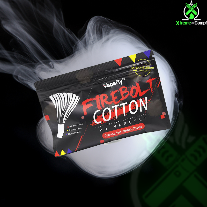 Watte | Vapefly | Firebolt Cotton Mixed Edition 21 Stück