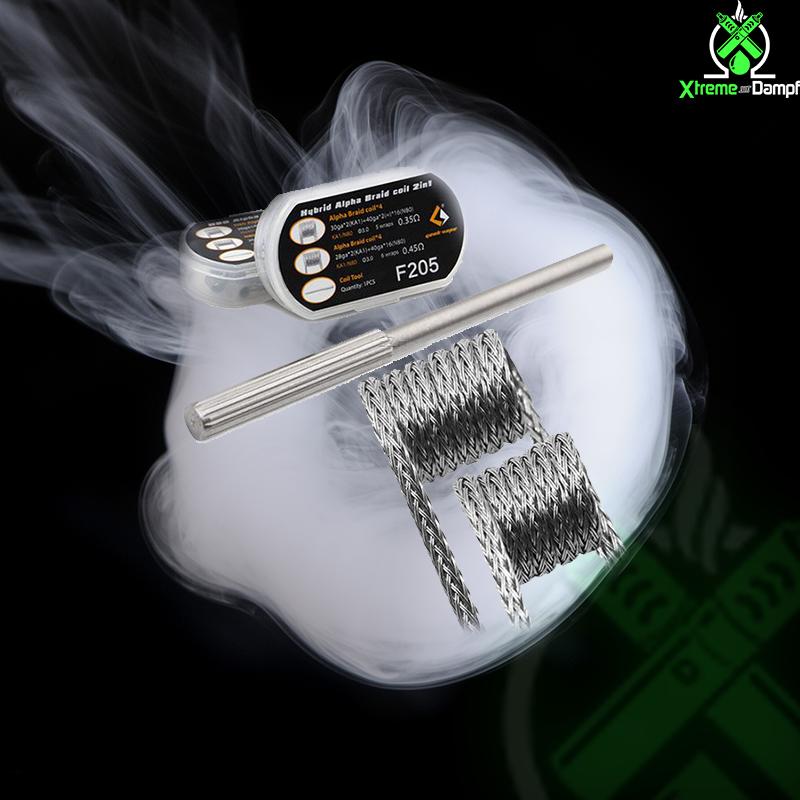 GeekVape | Coil | 2 in 1 | 8x Hybrid Alpha Braid F205