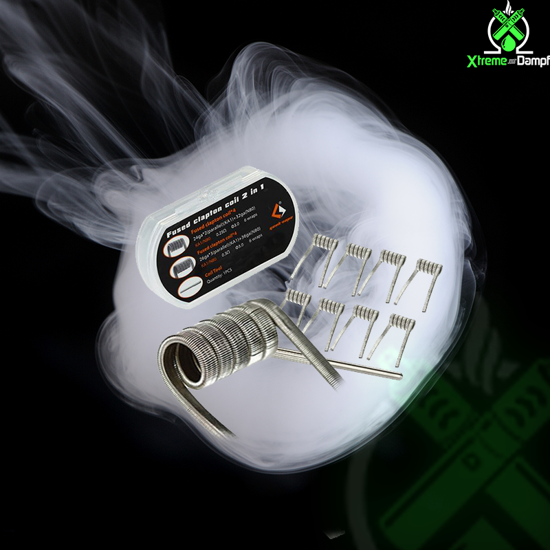 GeekVape   Coil   2 in 1   8x Fused clapton F201