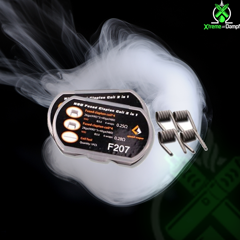 GeekVape | Coil | 2 in 1 | 8x N90 Fused Clapton F207