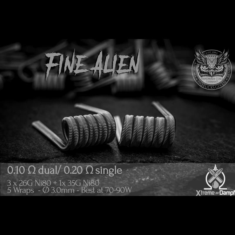 Aenigma | Coil | Fine Alien NiCr80 3mm