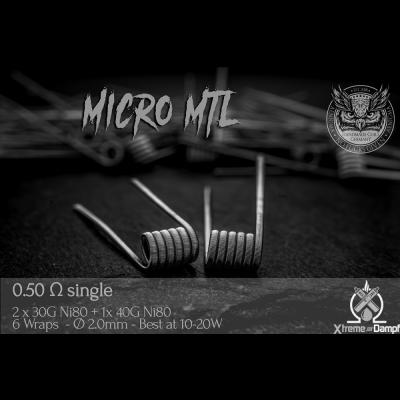 Aenigma | Coil | Micro MTL 2,5mm