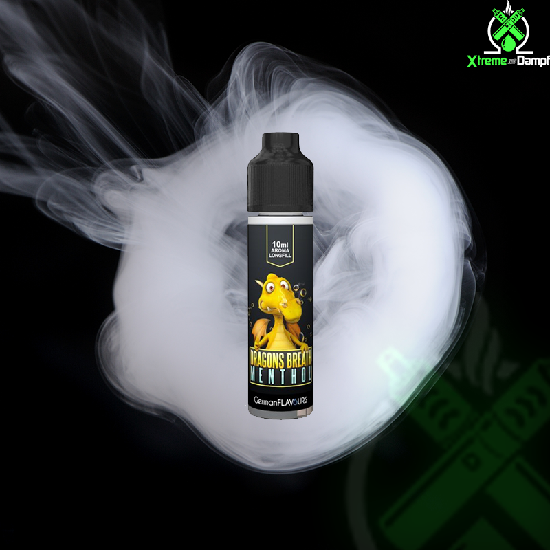 German Flavours | Longfill | Dragons Breath Menthol 10ml/60ml
