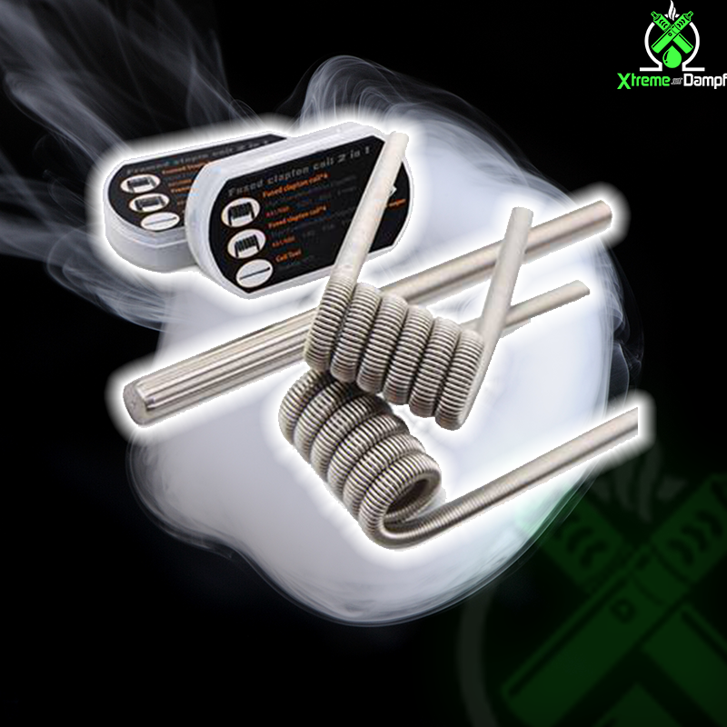 GeekVape | Coil | 2 in 1 | 8x Fused clapton F203