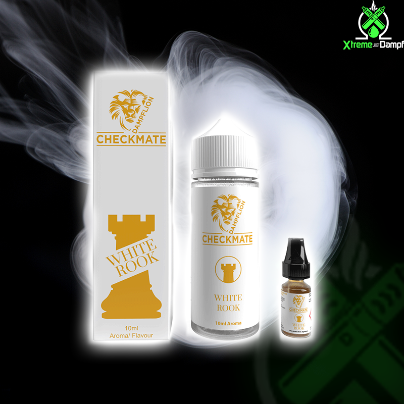 Dampflion | Longfill | Checkmate | White Rook 10ml/120ml