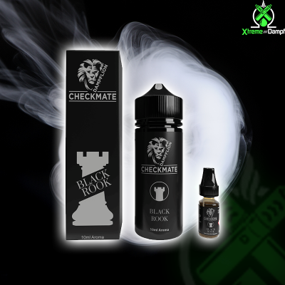 Dampflion | Longfill | Checkmate | Black Rook 10ml/120ml