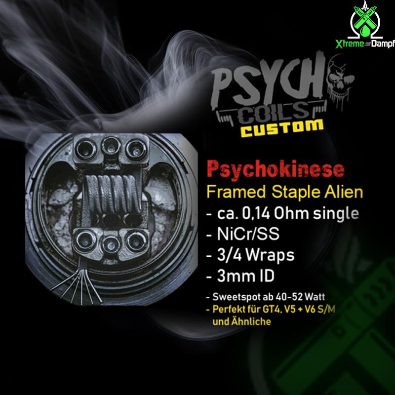 Psycho Coils Custom | Coil | Psychokinese