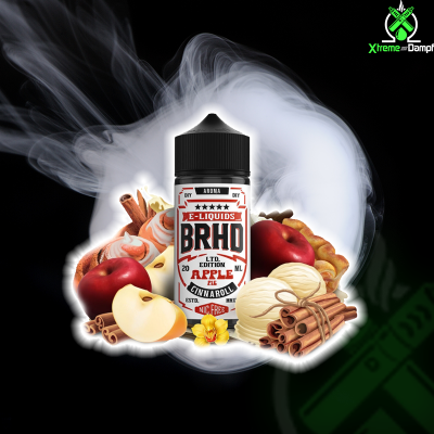 BRHD | Barehead | Longfill | Apple Pie Cinnaroll 20ml/100ml