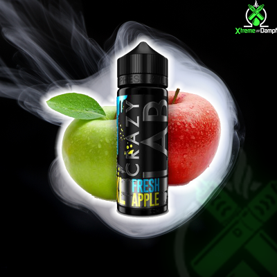 Crazy Lab XL | Longfill | Fresh Apple 10ml/120ml