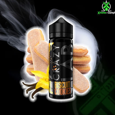 Crazy Lab XL | Longfill | Biscuit Cookies 10ml/120ml