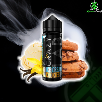 Crazy Lab XL | Longfill | Ice Cream Cookie 10ml/120ml