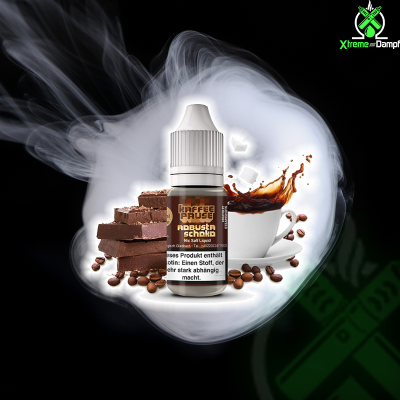 Steamshots | Salt Nic | Kaffeepause Robusta Schoko 10ml 18mg