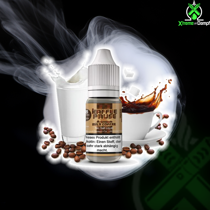 Steamshots | Salt Nic | Kaffeepause Milk Coffee 10ml 18mg